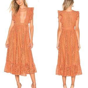 Majorelle Mistwood Dress (Revolve)